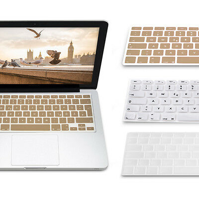 3X kwmobile TASTATUR SCHUTZ FÜR APPLE MACBOOK AIR 13'' PRO RETINA 13'' 15''