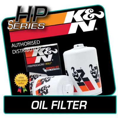 HP-1004 K&N OIL FILTER fits HONDA PRELUDE V 2.2 1996-2001