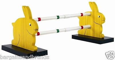 NEW Vitakraft Rabbit Run Exercise Toy Sunny Hop 2 bar Rabbit Agility Jump 18742