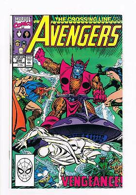 Avengers # 320 Underlying Currents ! grade - 9.0 scarce hot book !!
