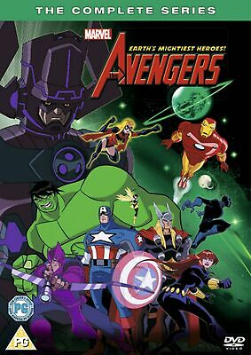 The Avengers - Earth's Mightiest Heroes: The Complete Series (Box Set) [DVD]