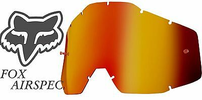 Goggle Shop MX Motocross lens for Fox: Airspec - Mirror Inferno