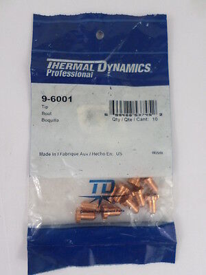 Thermal Dynamics 9-6001 Pack of 10 Tips For PAK50 Air Plasma Cutting System