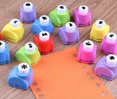 Mini Paper Cut Punch Scrapbook Card Craft Cutter Stencil Handheld Making Hole UK
