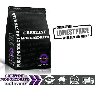 CREATINE MONOHYDRATE 500G ULTRA PURE POWDER 100 serving