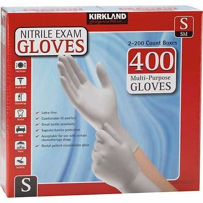 Kirkland Signature™ Nitrile Exam Gloves 400ct Small Size