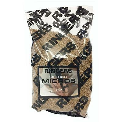 Brand New Ringers 2mm Method Micros Pellet 900g Bag