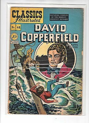 Classics Illustrated #48 HRN 47 (Original) GDVG Henry Kiefer - David Copperfield