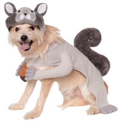 Squirrel Costume Pet Halloween Fancy Dress