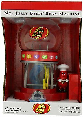Jelly Belly Mr. Jelly Belly Bean Machine, 1 oz One sample bag of beans NEW