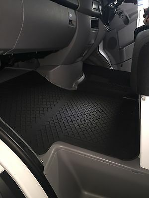 New Genuine Mercedes Benz Sprinter W 906 All  Rubber Floor Mat Set RHD Black