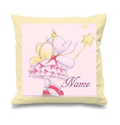 Lottie Fairy Primrose Cushion Cover Can Be Personalised  New Free P&p