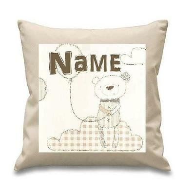 Night Time Hugs Cushion Cover Can Be Personalised  New Free P&p