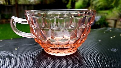 Pink Jeannette Cube / Cubist Cup
