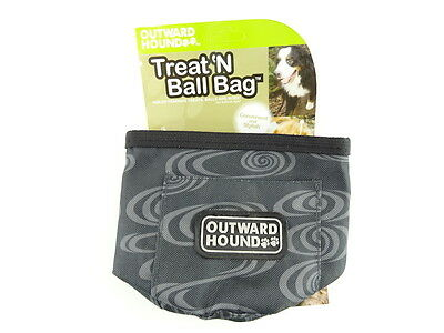Outward Hound Treat and Ball Training Bag , Green Swirl