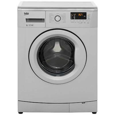 Beko WMB61432S A++ 6Kg 1400 Spin Washing Machine Silver New from AO