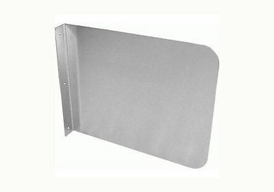 """24"""" Compartment Sink Splash Guard 26""""x20"""" Mounting type SP-S2420"""