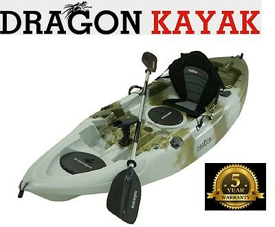 Fishing kayaks with seat paddle and rod holder brand new kayaks