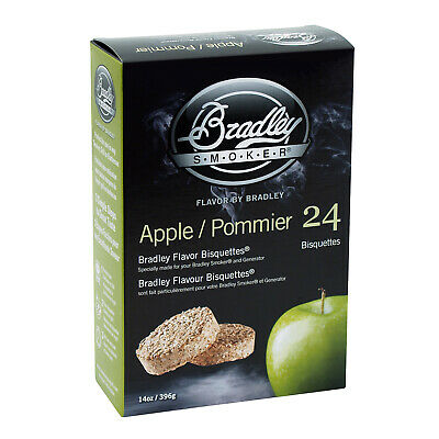 New Bradley Apple Bisquettes 24 Pack - BTAP24