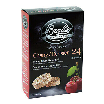 New Bradley Cherry Bisquettes 24 Pack