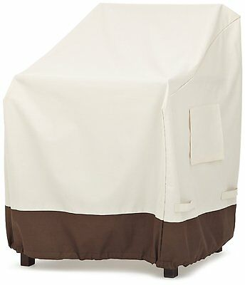 AmazonBasics Dining Arm Chair Patio Cover (Set of 2) (55-377-016201-11) BrandNew