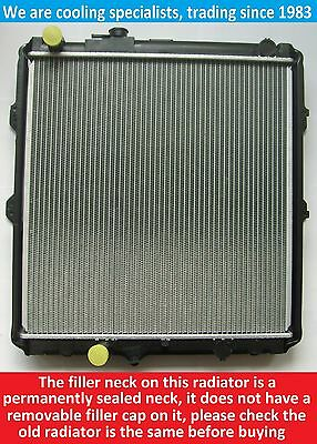 Brand New Radiator Toyota Hilux 2.4 Turbo Diesel 1997 To 2001 Manual Vehicles