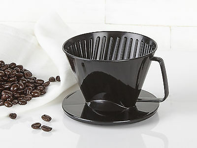 RANDWYCK 2 Cup COFFEE FILTER CONE BLACK