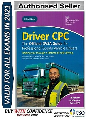 Official DVSA Driver CPC DSA Guide Professional Goods Vehicles LGV Book 2019'CPC