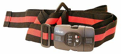 Genuine Rolson 66478 TSA Security Cross Luggage Strap Fully Adjustable
