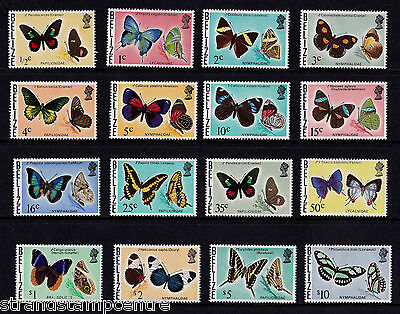 Belize - 1974-76 Butterflies Set to $10 - U/M - SG 380-95