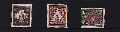 San Marino - 1894 Opening of Government Palace - Mtd Mint - SG 29-31