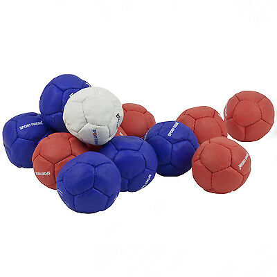 Boccia Balls Set - 13 Quality Faux Leather Balls For Indoor & Outdoor Use