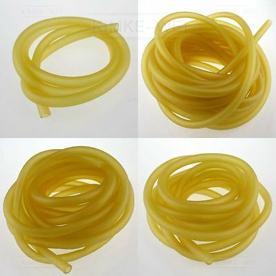 6x9mm Natural Latex Rubber Band Tube Slingshot Catapult Elastic Parts 1/3/5/10M