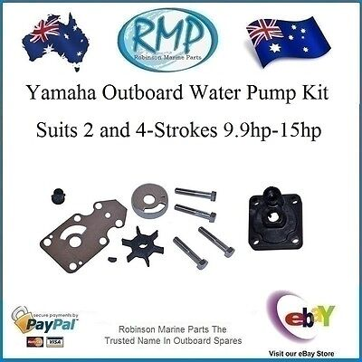A Brand New Water Pump Kit Yamaha 2 & 4-Strokes 9.9hp-15hp # R 6AH-W0078-00