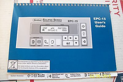 Nordson Epc-15 Users Guide Eclipse Series Pattern Control System