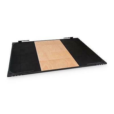 Smashboard Weightlifting Platform 2 X 2.5M Black Steel Cross-Train * Free P&p Uk