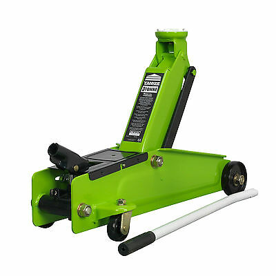 Sealey 1153CXHV High Visibility 3Tonne Long Chassis Trolley Jack like 1153CX