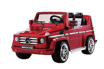 Mercedes G55 AMG 12V Ride on car