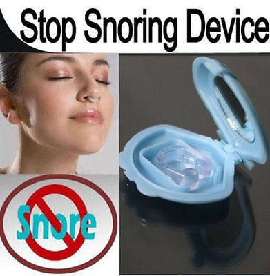 Nhs Snore Relief Pro Anti-Snoring Mandibular Device - Sleep Apnoea Aid New