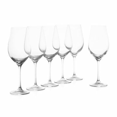 NEW Krosno Vinoteca Red Wine Glass Set of 6 (RRP $60)
