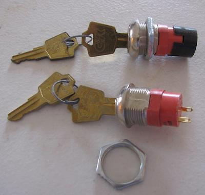 C & K Mini Keyed On & Off Switch Lock (Set Of 2)