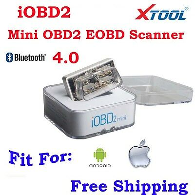 Xtool iOBD 2 Mini Diagnostic Appareil pour Android & iPhone Bluetooth 4.0 OBD2