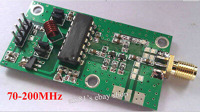 Hot70-200MHz VCO RF Signal Source Voltage Controlled Oscillator Signal Generator