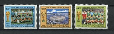 s5955) CAMEROUN 1986 MNH** World Cup Football'86 - Coppa del Mondo Calcio 3v.