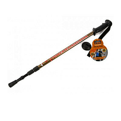 Telescopic Hiking Pole Adjustable Walking Stick Trekking Camping Folding Extend