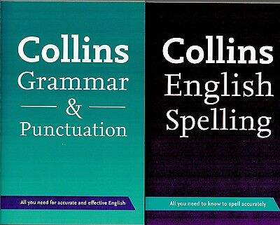 Collins Grammer, Punctuation and Spelling 2 Book Set - New Paperback Books