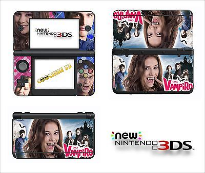 Skin Sticker Autocollant - Nintendo New 3Ds - Ref 202 Chica Vampiro