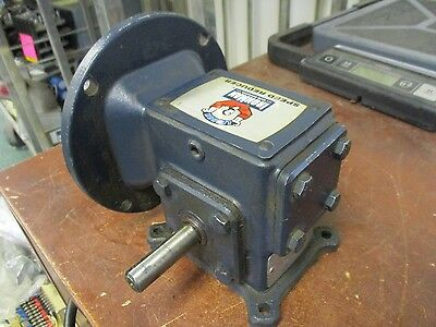 Leeson IronMan Speed Reducer W6130079 Ratio 30:1 Input: 0.32HP Used