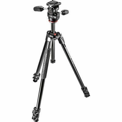 Manfrotto MK290XTA3-3WUS 290 Xtra 3-Way Head Kit (Black)
