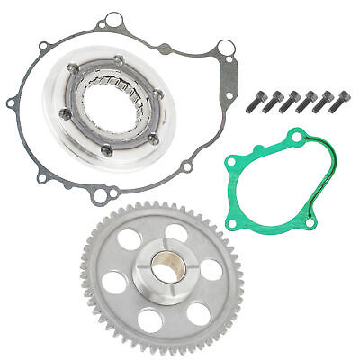 Starter Clutch & Gear Idler W/ Gaskets For Yamaha Yfm660R Raptor 660R 2004-2005
